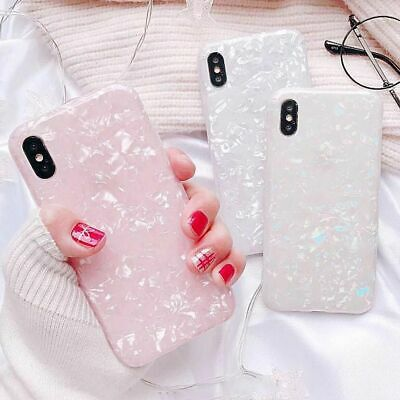 Case For Samsung S10+ S10 Plus S9 S8 S7 Cover Marble Silicone Skin TPU Bumper