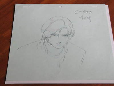 CITY HUNTER TSUKASA HOJO DOUGA ANIMATION CEL NICKY LARSON CAZADOR JAPAN Anime C