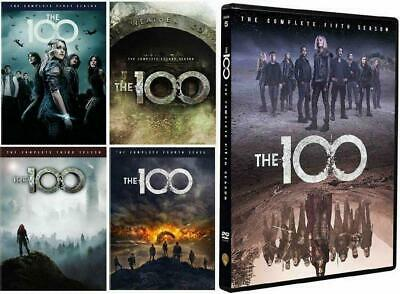 The 100: The Complete Series Seasons 1-5 (DVD, 2018, 17-Disc Set) Sealed NEW