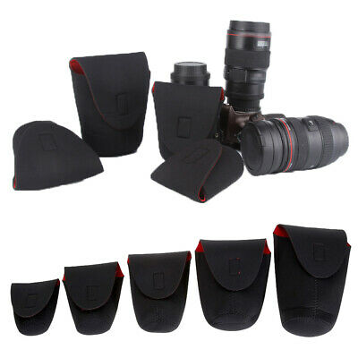 Neoprene Waterproof Soft Camera Lens Pouch Protector Bag Case For DSLR/SLR Acces