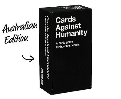 Cards Against Humanity Set Card Game - Australian Edition V2.0