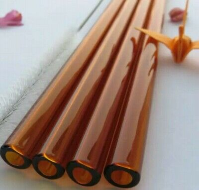 Best Priced! 9mm Amber Tubes, Make More Art For Less! Free Shipping