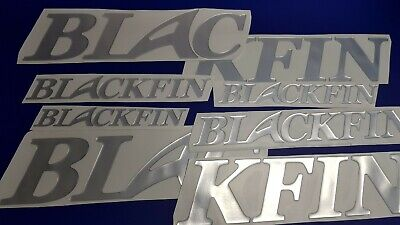 "Blackfin Boats Emblems 42"" + FREE FAST delivery DHL express - Stickers Set"
