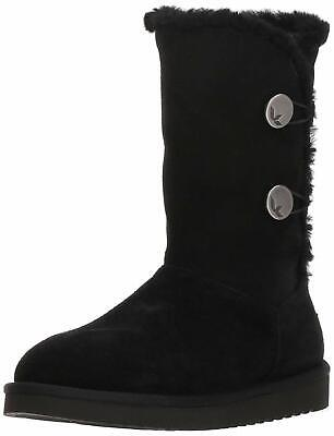 666599ae1d8 UGG WOMEN'S W Leigh Boot, Black, Size 9.0 - $146.25 | PicClick