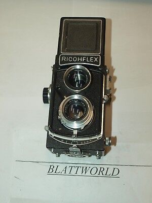 GENUINE ORIGINAL RICOH RICOHFLEX TWIN LENS REFLEX CAMERA with 80mm F3.5 RIKEN L