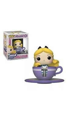Disney Parks Funko Pop Rides Alice at the Mad Tea Party Exclusive Wonderland