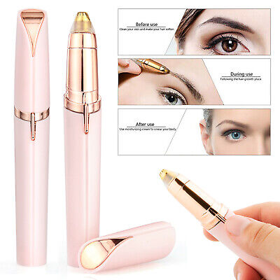 Women's Flawless Brows Facial Hair Remover Face Electric Eyebrow Finishing Touch
