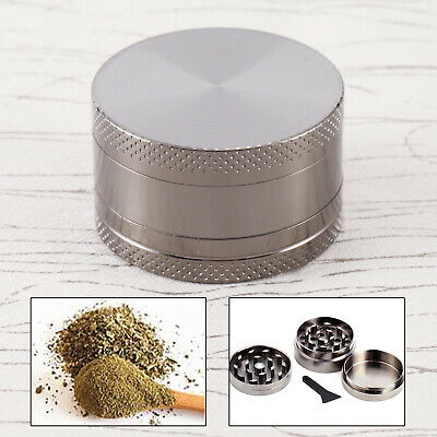 Couleur Carbone 40mm Epice Broyeur a main Moulin Herbe pollen 3 couches Grinder