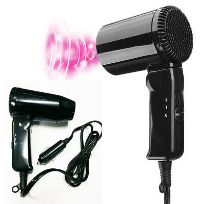 12V Car Hair Dryer Compact Travelling Festival Camping Portable Caravan Newest
