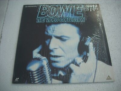 DAVID BOWIE  / THE VIDEO COLLECTION   Europe Laserdisc Pal version