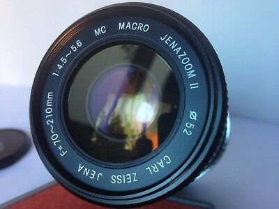 Rare Carl Zeiss Canon EF/EOS Digital Camera fit 70-210mm Zoom Lens + Adapter