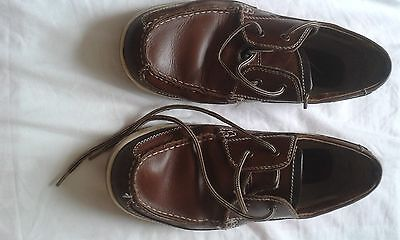 Mens Lotus Brown Lace Up Shoes Size 6