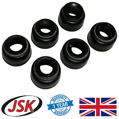 Valve Stem Seal Kit 6pc for Perkins 3.152 A3.152 AD3.152 T3.152 3.1522 3.1524