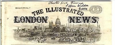 1866 ILLUSTRATED LONDON NEWS Newspaper WAR ROCCO PAGANA ITALY Valencia  (4831)
