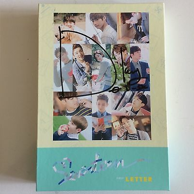 Seventeen 1St Album Love&Letter Dk Signed+ Choice Of Bookmark Photocard[Dokyeom]