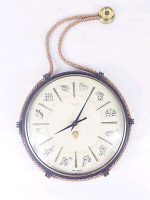 Vintage KIENZLE German rope hanging wall clock(excellent working order)
