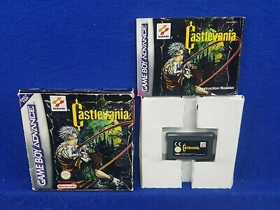 Gameboy Advance CASTLEVANIA *x Boxed & Complete GBA PAL UK