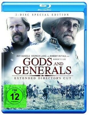 GODS AND GENERALS, Extended Director's Cut (2 Blu-ray Discs) NEU+OVP