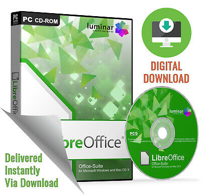 Libre Office Professional 2019 - Complete Package for Microsoft (Download)