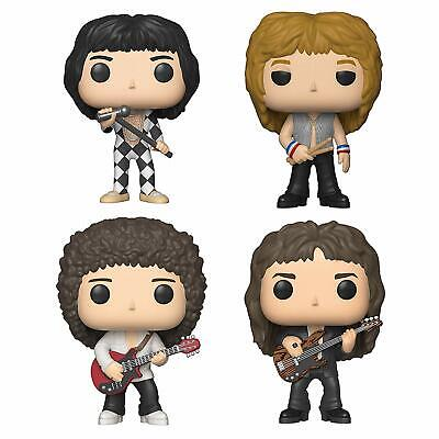 Funko POP! Rock QUEEN 4er SET=Freddie Mercury+John Deacon+Brian May+Roger Taylor