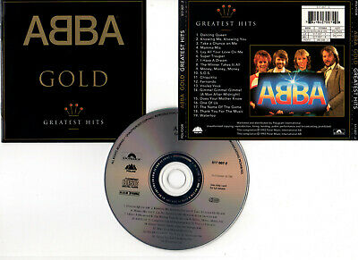 "ABBA ""Gold - Greatest Hits"" (CD) 19 Titres 1992"