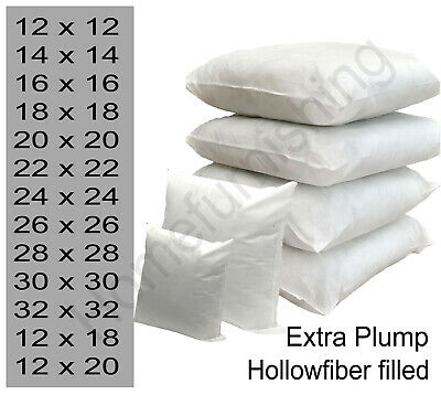 """Top Quality Hollow Fiber Cushion Pads,Inners,Fillers""""14""""16""""18""""20""""22""""24""""26""""28"""