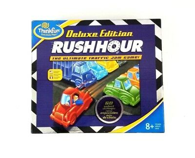 Think Fun Deluxe Edition Rush Hour The Ultimate Traffic Jam Game Everybody Plays