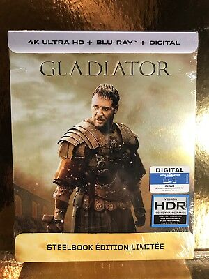 STEELBOOK Blu-ray /4K Gladiator [ Edition Limitee  ]