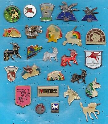 Lot De 26 Pin's Cheval Chevaux Licorne Unicorn ++++++++++++++++++++++