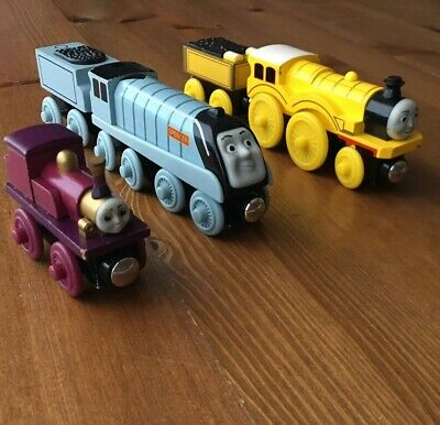 Thomas Train Wooden Railway Wood Lot Molly Tender Spencer Lady Learning Curve