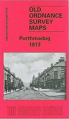 OLD ORDNANCE SURVEY MAP Porthmadog 1913: Caernarvonshire Sheet 34.16