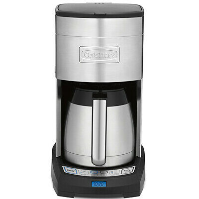 Cuisinart 10 Cup Stainless Automatic Thermal Coffee Maker w/ Touchpad Controls