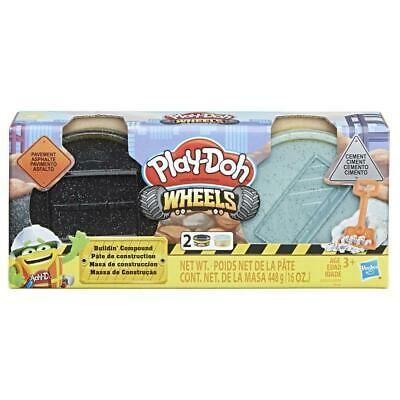 Play-Doh Wheels Pavement and Cement Building Compound - 2 Pack