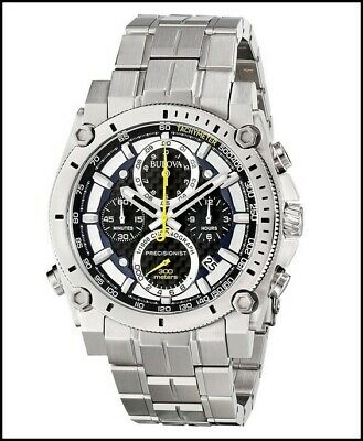 Bulova 96B175 Precisionist Chronograph 300 Meters WR Stainless-Steel Watch