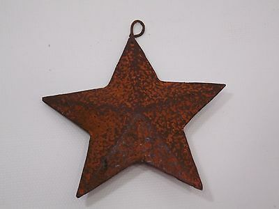 Rusty STARS Set of 5 Three Dimensional Country Primitive Vintage Reproduction