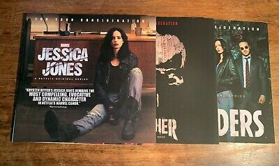 Marvel Netflix FYC 3 DVD lot Jessica Jones The Punisher Defenders