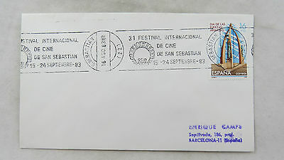 cover Spain España Film Festival Certamen Cine Documental San Sebastian 1983