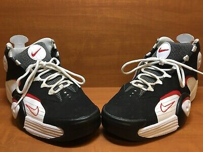 timeless design 50121 ff855 Nike Air Flight One 1 Chicago Penny Hardaway Black White Red 538133-101