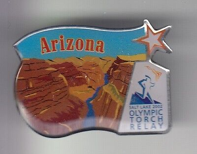 Rare Pins Pin's .. Olympique Olympic Jeux Arizona Grand Canyon 2002 Slc  Usa ~17