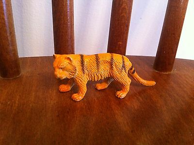vintage Unknown Manufacturer Wild Animal Jungle Cat Tiger Collectible Toy RARE