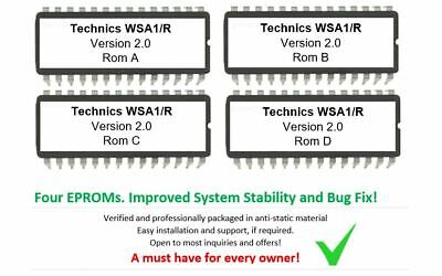 Technics SX-WSA1/R - Version 2.0 Firmware Upgrade Update Eprom OS for WSA