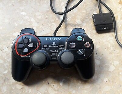 mando control dualshock 2 ps2 playstation 2 con defecto