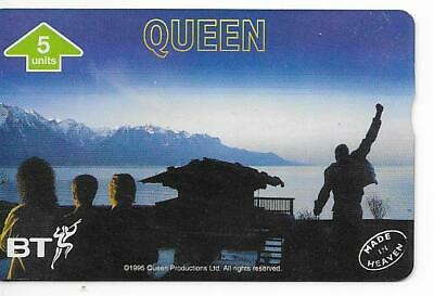 Rare / Carte Telephonique + Encart - Freddie Mercury : Queen / Phonecard 5000 Ex