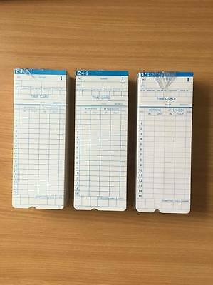 Cards for Time Recorder Clocking in Clock Machine MONTHLY Model - 300 Pack