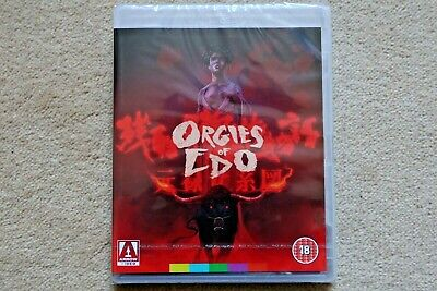 Blu-Ray Orgies Of Edo  ( Arrow )     Brand New Sealed Uk Stock