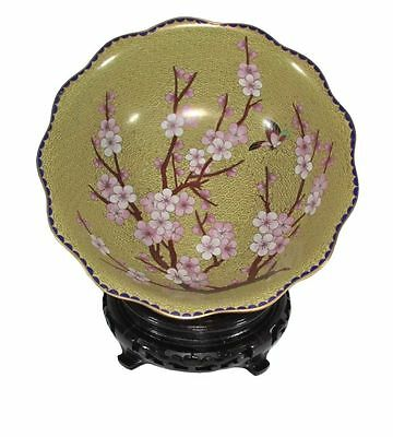 Cloisonne Chinese bowl