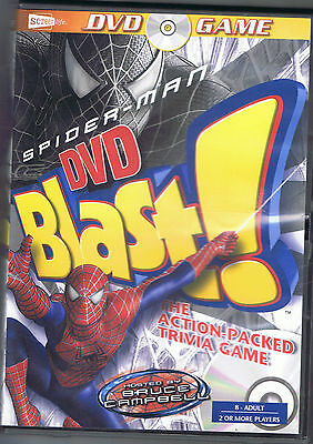 New Spider Man Blast! Action Packed DVD Trivia Game