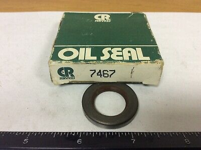 ".2500"" Width 1.624"" OD .9688"" ID CR 9646 Single Lip Oil Seal"