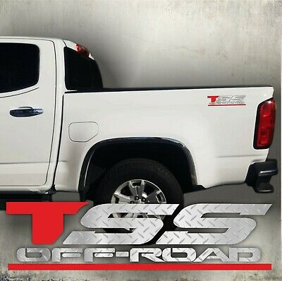 TSS OFF ROAD DECALS V8TH4 TOYOTA BED SIDE REPLACEMENT OEM SPORT STICKERS BODY