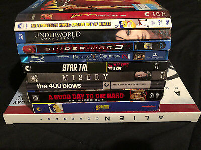 LOT of BLU-RAY SLIPCOVERS BOXES EXCLUSIVES VARIANTS! No Movies! Alien Spongebob